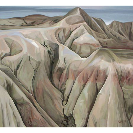 The White Place           Oil/Canvas, 30x40in, 2003, Collection Badlands National Park