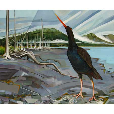 The Oystercatcher   |   oil/canvas, 20x24in, 2014 (Sold)