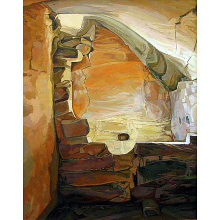 Shelter    |   oil/canvas, 20x16in, 2009 | Collection Mesa Verde National Park
