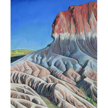 The Wall       |   &nbsp   Oil/Canvas, 20x16in, 2013, Collection Petrified Forest NP