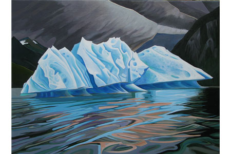 Iceberg One       |       Oil/linen, 18x24in, 2015