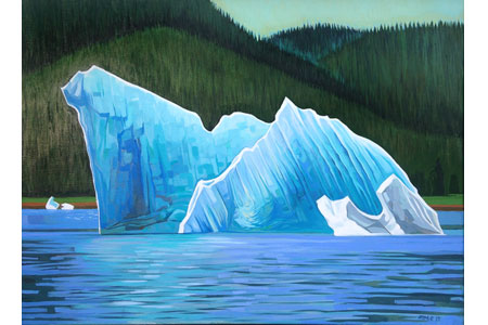 Iceberg Four       |       Oil/linen, 18x24in, 2015