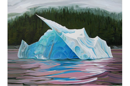 Iceberg Five       |       Oil/linen, 18x24in, 2015