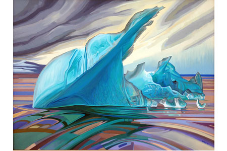 Iceberg Seven       |       Oil/canvas, 30x40in, 2015